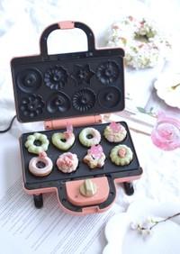 抹茶と桜の焼きドーナツ