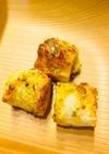 もう一品!トースターでカレーチーズ竹輪