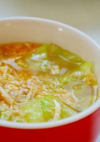 鶏胸肉の卵スープ(胃に優しい)