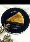 濃厚で簡単!ほうじ茶のレアチーズケーキ