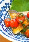 めかじきのソテー♪プチトマト大葉ソースで
