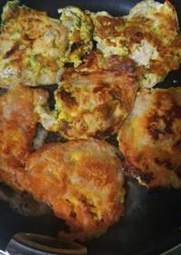 簡単生姜焼き用のお肉でピカタ