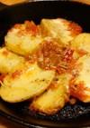 スキレットで焼くだけサルサチーズのポテト