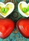 簡単‼そら豆(ファーベ)とエビの茶碗蒸し