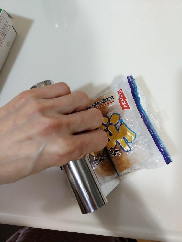 まな板包丁を汚さずちくわを細かく切る方法