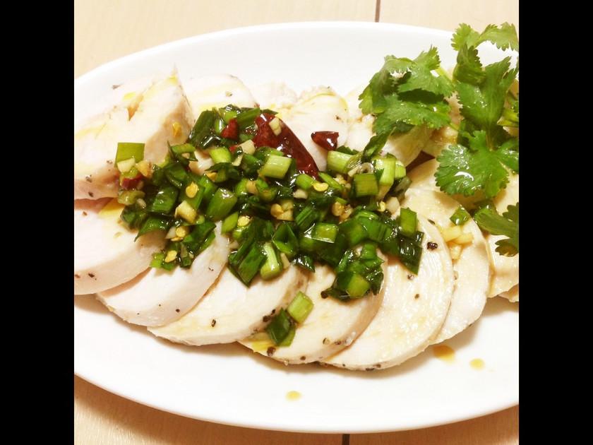 簡単柔らかい鶏サラダチキンダイエット向き