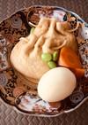 ほっとする味は もち巾着と煮卵