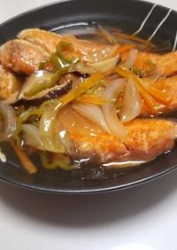 鮭の野菜あんかけ