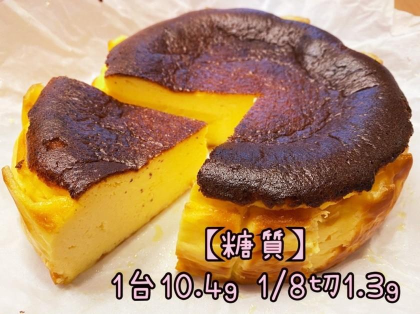 簡単♡低糖質♡バスク風チーズケーキ