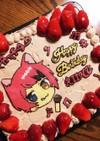 莉犬くんキャラチョコデコレーションケーキ