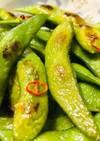枝豆ペペロンチーノ・おつまみに・副菜に♬
