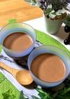 マシュマロで作る生チョコプリン