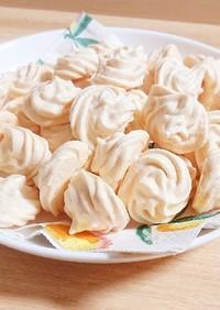 卵白で簡単おやつ☆焼きメレンゲ