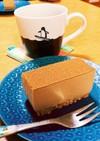 コーヒーレアチーズケーキ