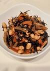 栄養満点!ひじきと大豆の煮物