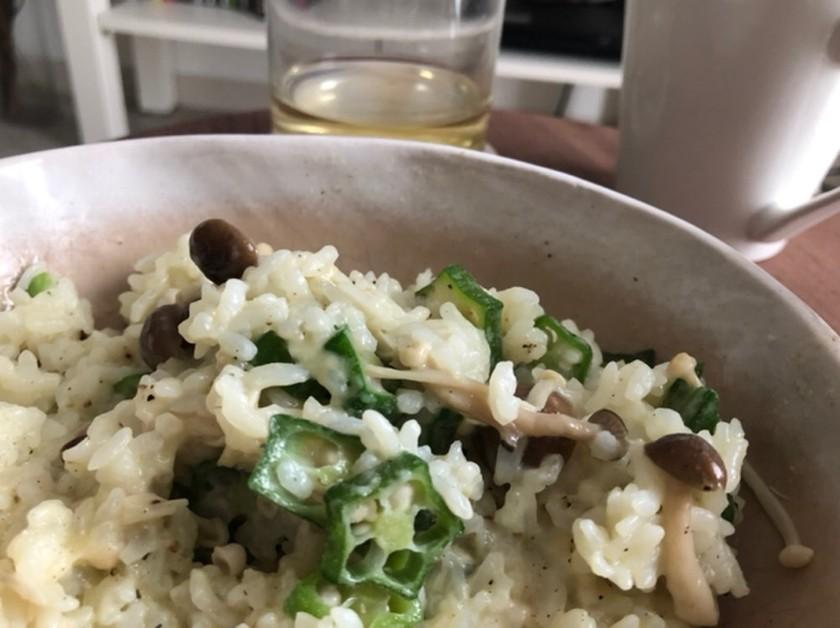 チーズドリア(電子レンジ)