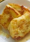オリーブオイルで甘くないフレンチトースト