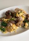 きくらげと卵の中華炒め
