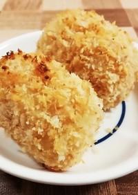 サクサク☆トースターで焼きコーンコロッケ
