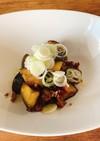 豚挽肉と茄子のバルサミコ炒め