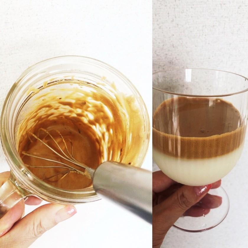 #簡単#ダルゴナコーヒー#飛び散り知らず
