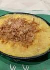スキレットで長芋の鉄板焼き