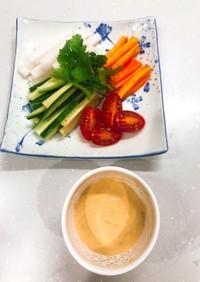 セブンイレブンの野菜スティックのソース