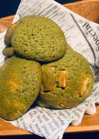 HMor小麦粉!抹茶チョコチップクッキー