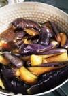 焼き茄子の煮浸し