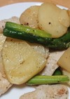 鶏胸肉のハーブソルト粉チーズ焼き
