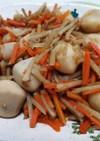 めんつゆで作る里芋とごぼうの煮物