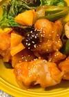 【簡単美味しい】鶏肉と野菜の甘酢あん*+