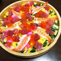 簡単なちらし寿司