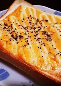 チェダーチーズトースト