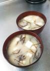 生ふのりと豆腐のお味噌汁