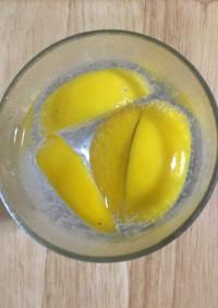 レモンの保存☆飲み物に◎