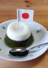 富士山ゼリー(抹茶、あんこ、ミルク)