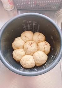炊飯器で簡単ちぎりパン