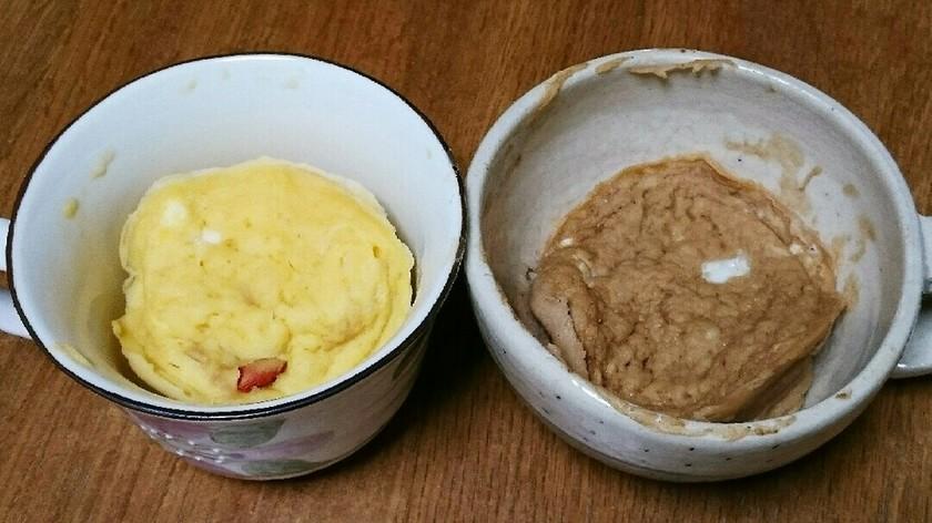 混ぜてレンチン★簡単★米粉カップケーキ