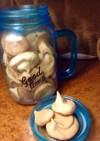 砂糖少なめメレンゲクッキー