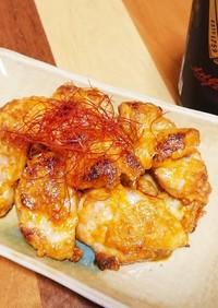 簡単酒肴☆鶏モモ肉のシラチャーマヨ