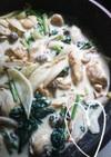 ☆ささみとほうれん草のクリーム煮☆