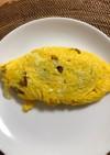 ひき肉のオムレツ(2人分)