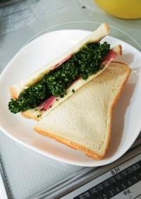 パセリたっぷりサンドイッチ