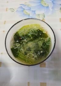 休校レシピ27 簡単野菜スープ
