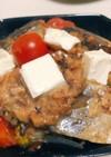おつまみ☆サバの味噌煮缶でクリームチーズ
