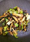 しめじといろいろ野菜、昆布の佃煮炒め