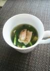 ♪カブの葉とベーコンの美味しいスープ♪