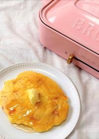 簡単アレンジ!あまじょっぱいホットケーキ