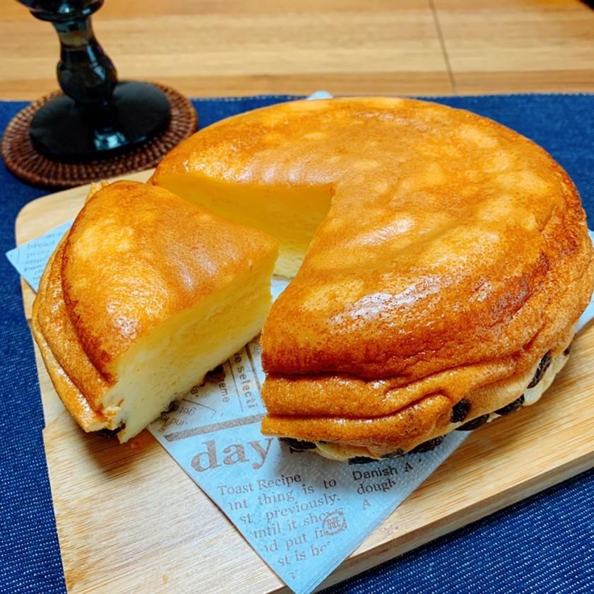炊飯器で簡単◎スフレチーズケーキ